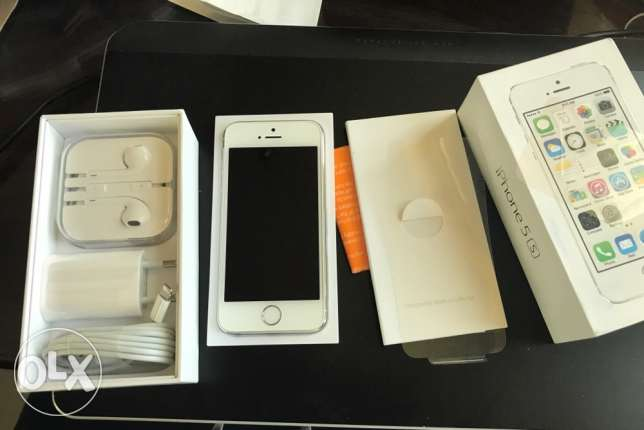iphone 5s 32 GB , Silver