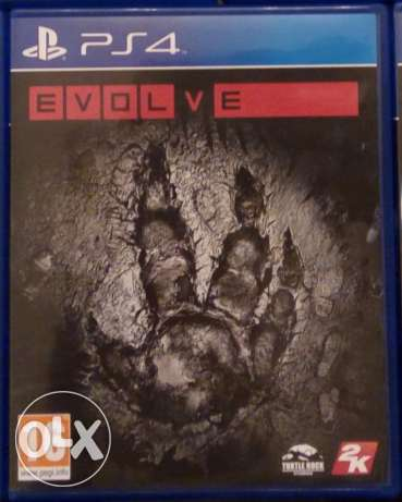 Evolve game fof PS4