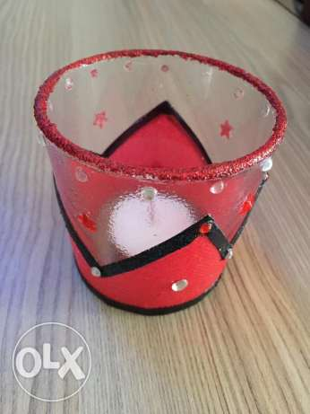 unique hand made candle holder مدينتي -  1