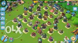 Boom Beach level 64 Max EGP 6,000