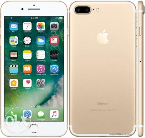 Iphone 7 plus first american copy (GOLD)