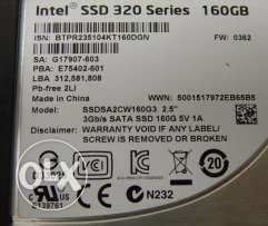 Intel SSD 320 Series Sata2 160gb 3gb/s بيع او بدل