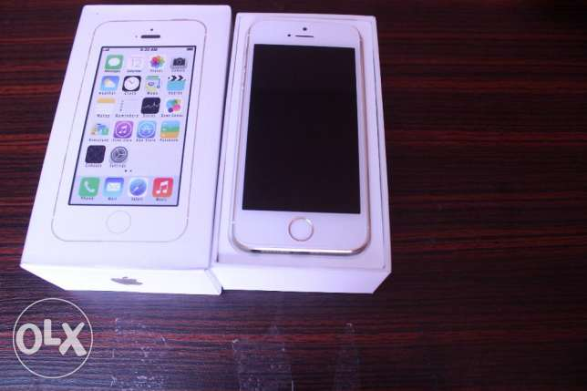 Iphone 5S 16GB Gold Newايفون ه اس جديد