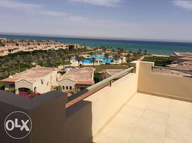 Penthouse for sale in La vista 4 AL Ain Alsokhna fully furnished