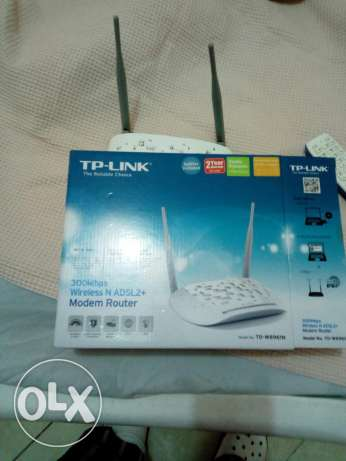 Router TP-link and wireless home phone... راوتر و اكسس بوينت و تليفون