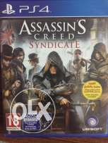 Assassins Creed Syndicate Ps4 ( ARABIC Edition) with it's codes