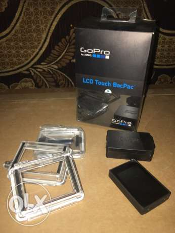 gopro hero 3 or 3+ or 4 black LCD touch bacpac