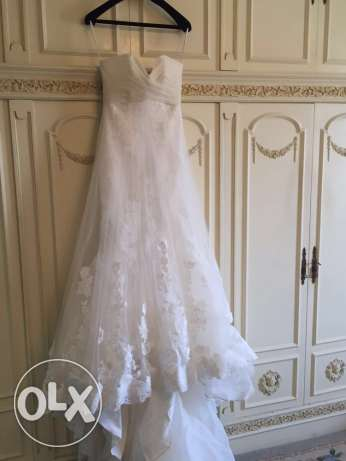 wedding dress, worn only once