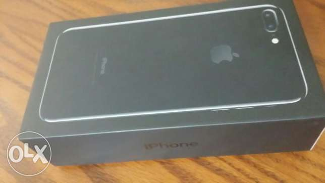 IPHONE 7 PLUS 128 GB jet black colour, new one, NOT ACTIVATED مدينة نصر -  4