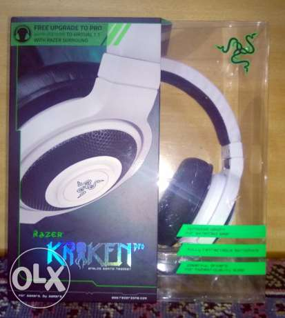 Razer Kraken Pro Analog Gaming Headset - White