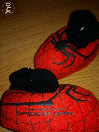 Imported Spider man winter slipper شبشب جزمة
