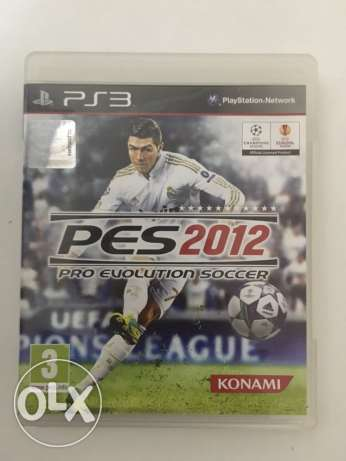 Playstation 3 games PES 2012