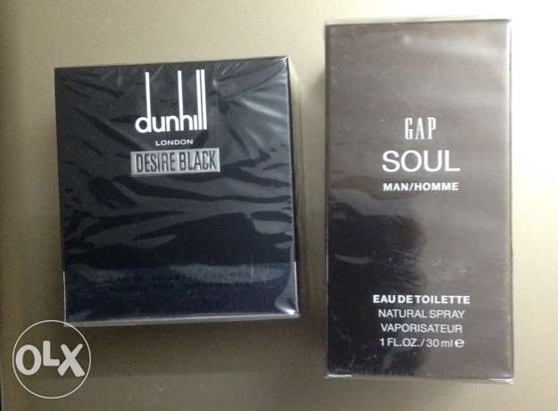 dunhill black desire & Gap soul for men eau de toilette 30 ml