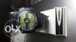 casio illumintor with world time