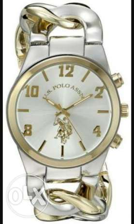 U. S polo original watch gold and silver made in U.S.A