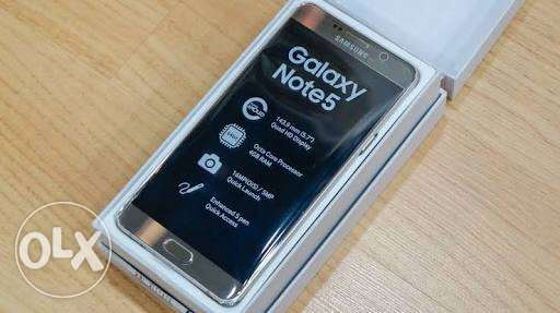 Note 5 32gb platinum Gold
