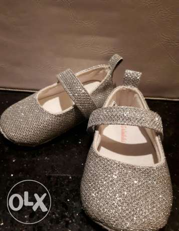 Silver Shoe جزمة فضى
