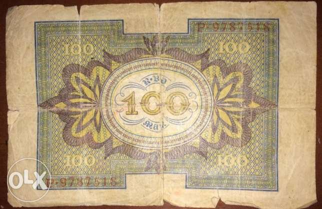 Old German Mark currency