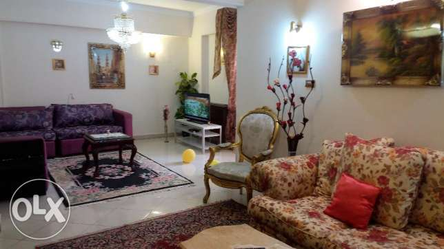 Luxury flat for arabs and foreigners AC's at M Nasr