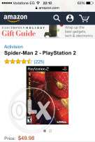 CD Spider-man 2 for playstation2 اصلي