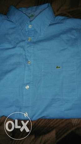 Original lacoste short sleeves shirt size small