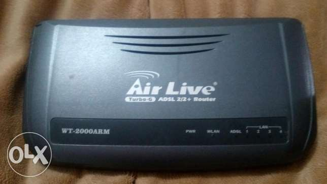 Wireless modem airlive 2000arm turbo G