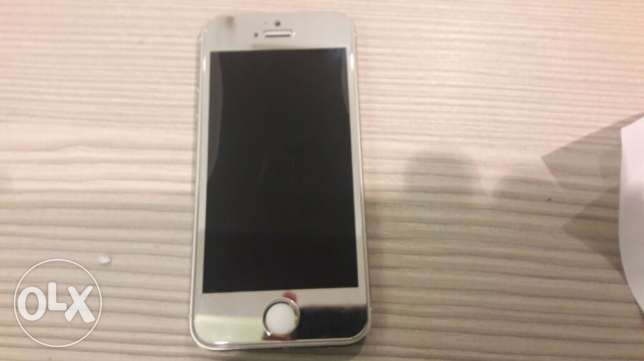 Iphone 5s perfect condition النزهة -  2