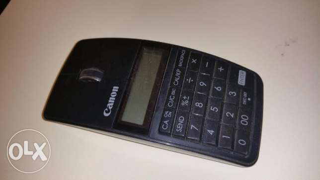 canon mouse with calculator ماوس كانون في الة حاسبة