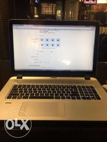 """HP Envy 17.3 """" touch smart"""