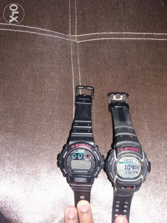 عدد 2 ساعة Casio G Shock