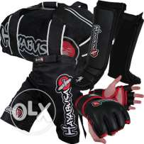 Hayabusa MMA FIGHT, Shin Guards, Boxing Gloves, Mouth Piece, Groin Pro