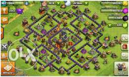 Clash of clans th9,7,clan lvl4