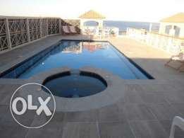 Luxury 2 beds flat -for rent- Hurghada- pool+Jacuzzi