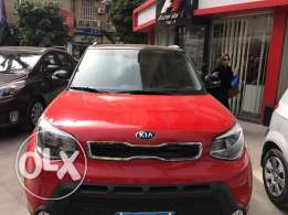 2016 kia soul red 10000 km