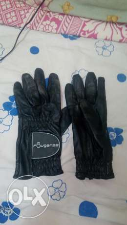 Gloves forganza and helmet for sale