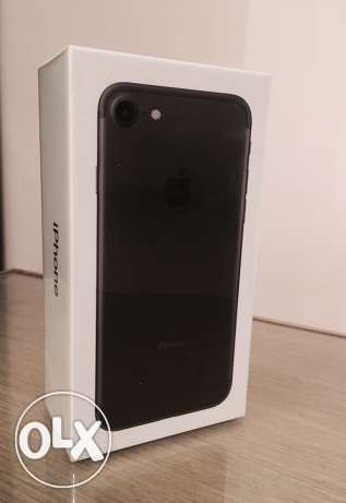 Iphone7 plus 128 matt black sealed