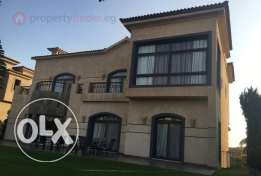 Luxury Finished Villa 800 for sale Lake View - New Cairo