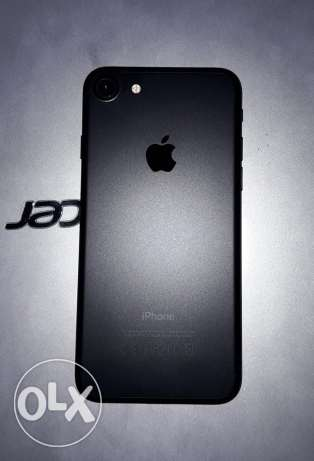 Iphone 7 black matte 32 GB