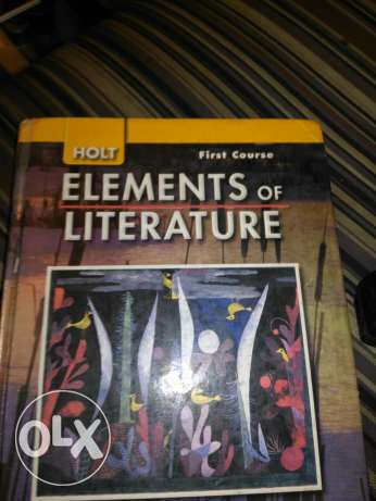 element of literature first course
