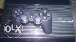 NEW ps3 super slim with 1 CD