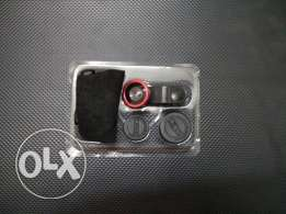 3-in-1 Wide Angle Macro Fisheye Lens Kit with Clip 0.67x Mobile Phone