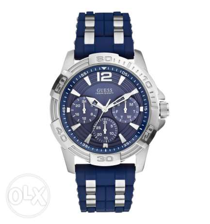 Guess blue & silver