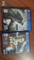 watch dogs and fifa 14-ps4