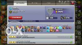 Clash of clan TH 11 قرية كلاش اوف كلانس