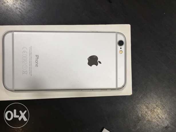 IPhone 6 16 g silver for sale or exchange with Samsung note 5 السعر ن