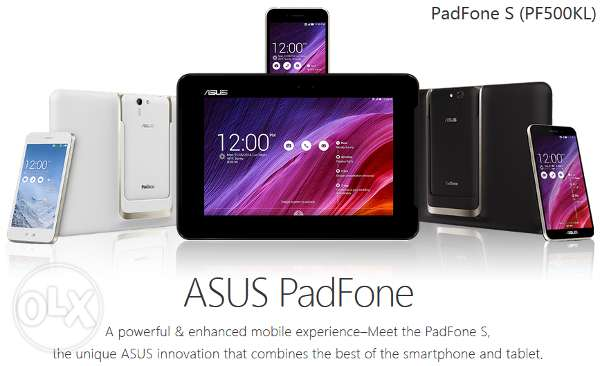 ASUS PadFone S Combo Mobile Tablet Laptop w Case Android 6.0 from USA