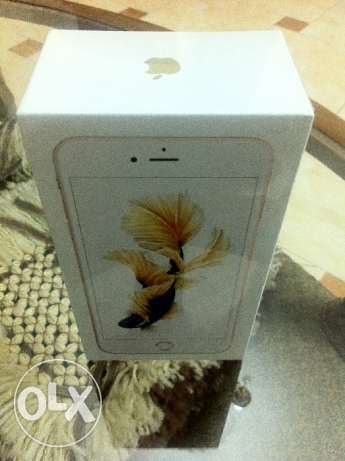 I Phone 6S Plus 64GB Gold with FaceTime Sealed متبرشم