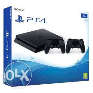 Brand new ps4 with 2 controllerss 500 GB