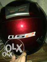 Helmet LS2 , Dark Red , With Bag , Used For Two Months