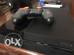 Playstation 4 region 3 with one controller and no games
